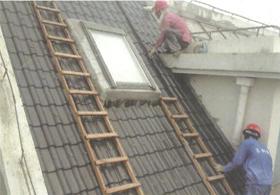 树脂瓦房顶