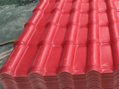树脂瓦厂家简述合成树脂瓦成为屋面材料的原因