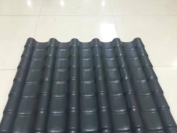 树脂瓦厂家分享屋面使用合成树脂瓦的好处