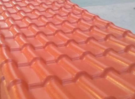 树脂瓦厂家简述合成树脂瓦的安装方法