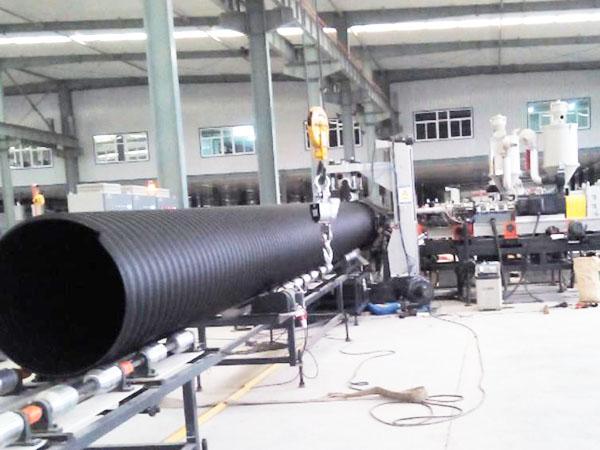道路钢带增强聚乙烯PE螺旋波纹管