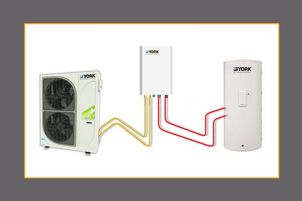 约克YCAG-HR风冷冷水热泵热回收型室外机