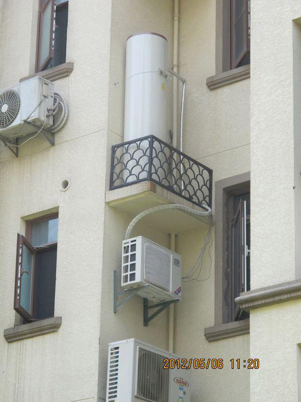 凤凰花园住宅小区格力空气能热水器案例