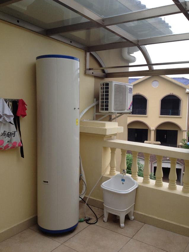 怀化紫园别墅空气能热泵工程案例