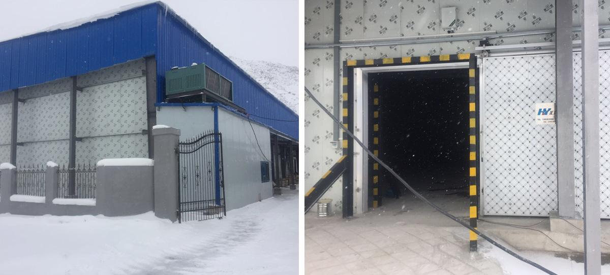青海大学皇源高山实验站,5000吨马铃薯子种储存恒温恒湿冷库项目