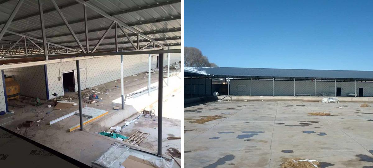 甘肃亚兰药业2000吨中药材储藏库,远程监控系统