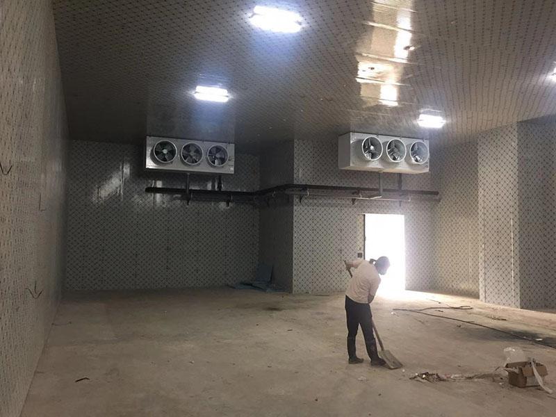临夏州东乡县厦临公司东西协作扶贫牛羊肉制品加工冷链冷库工程