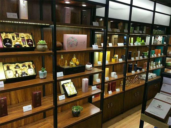 天水化妆品店货架展柜