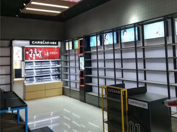化妝品店鐵質貨架