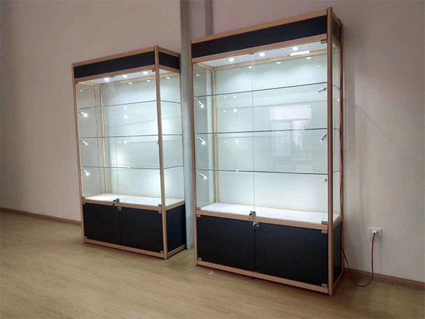 室外玻璃展柜