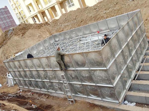 不锈钢水箱内部焊接方法