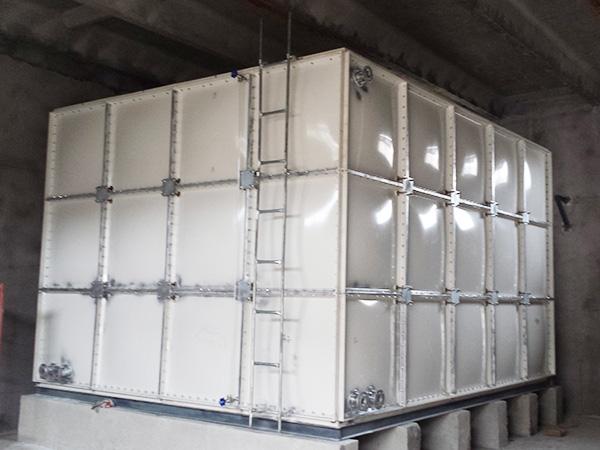 兰州碧桂园小区组装式玻璃钢消防水箱