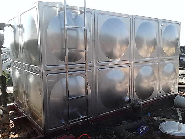 兰州恒大山水城不锈钢生活水箱