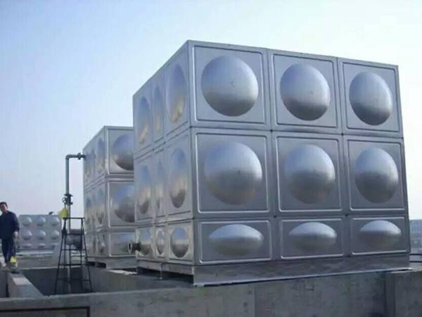 武威市华丽广场不锈钢消防水箱