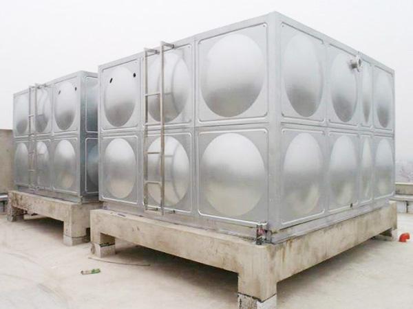 不锈钢消防水箱漏水处理方法