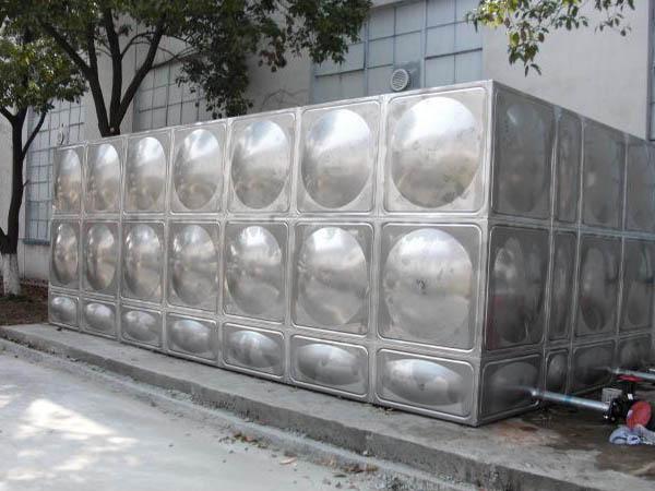 不锈钢消防水箱安装