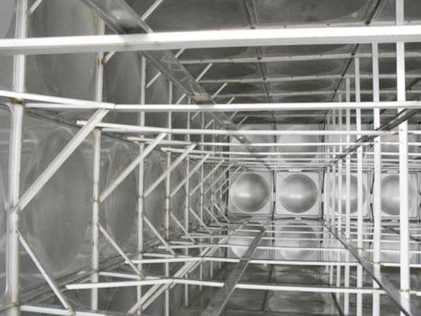 不锈钢水箱内部如何防锈