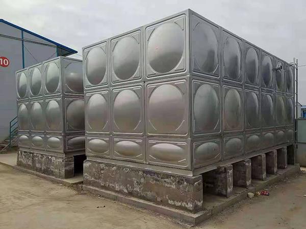 恒大文旅城项目两台45立方生活水箱