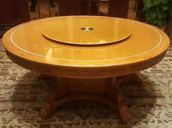 木质中餐两用竞博国际注册桌