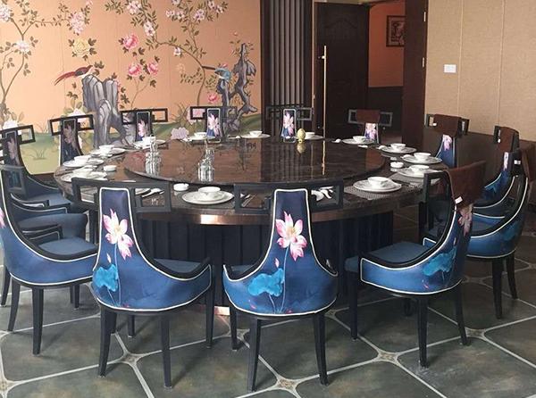 中国风中式餐桌椅