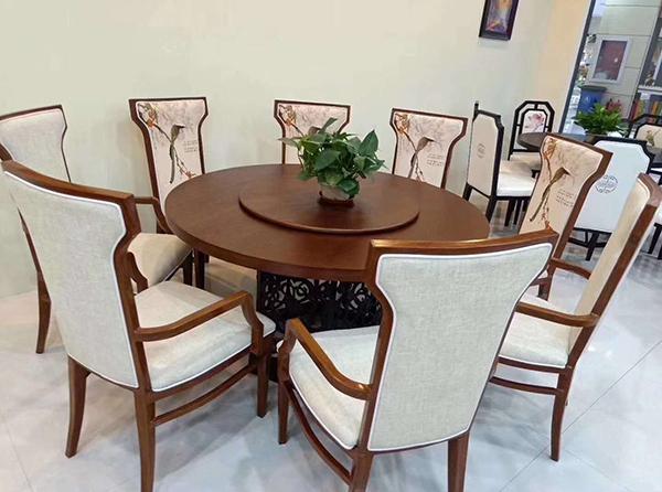 中式餐桌椅定制