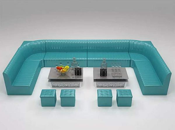 甘肃卡座沙发的形状及适用场所