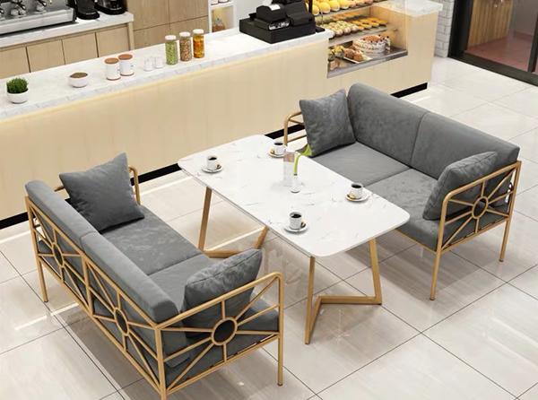 咖啡店卡座沙发