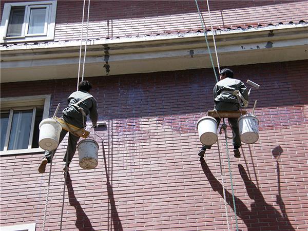 楼房外墙防水工程