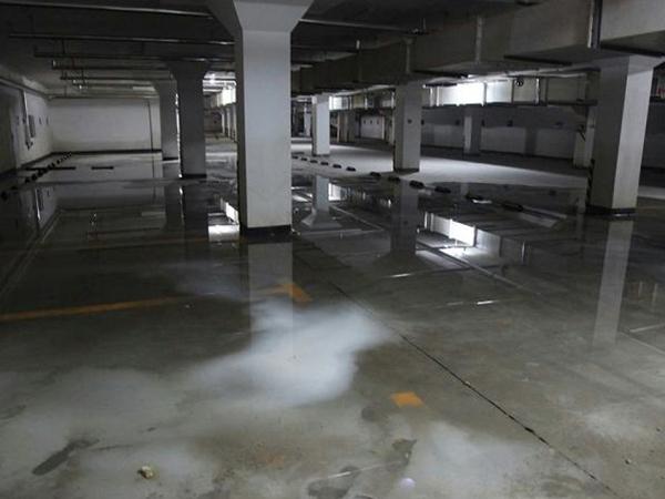 地下车库防水堵漏工程