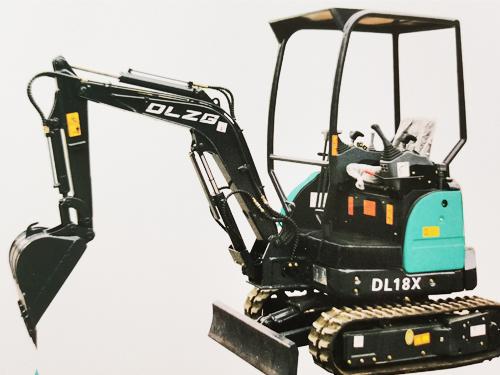 德力小型挖掘机DL18X18L