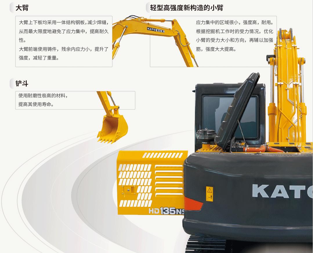 加藤挖掘機HD135NS