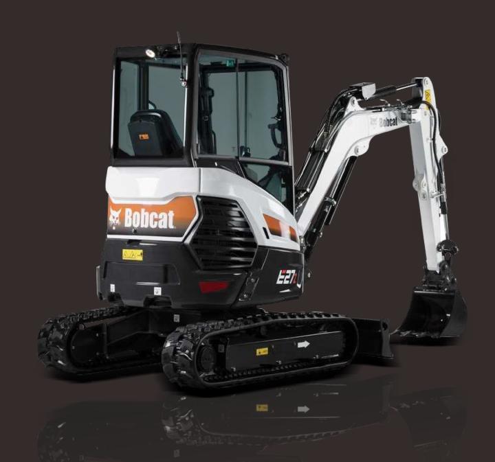山猫挖掘机E27