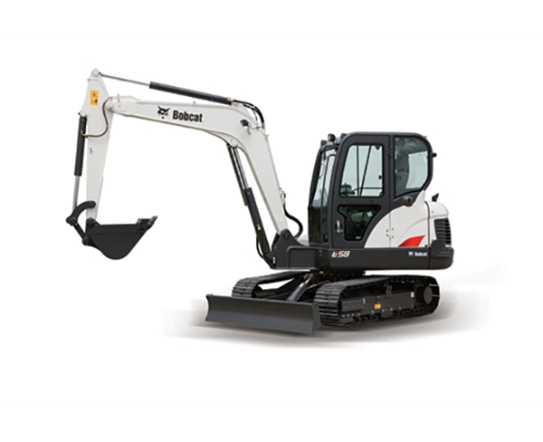 山猫挖掘机E35