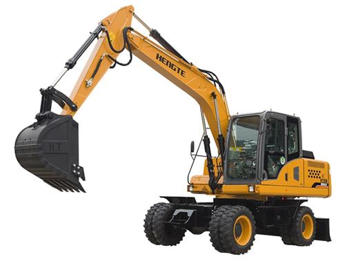 HT145W挖掘机--轮式挖掘机