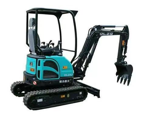 德力小型挖掘机DL20U