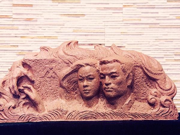兰州校园砂岩浮雕厂家