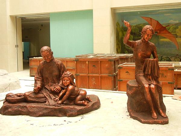 甘肃民俗文化雕塑制作