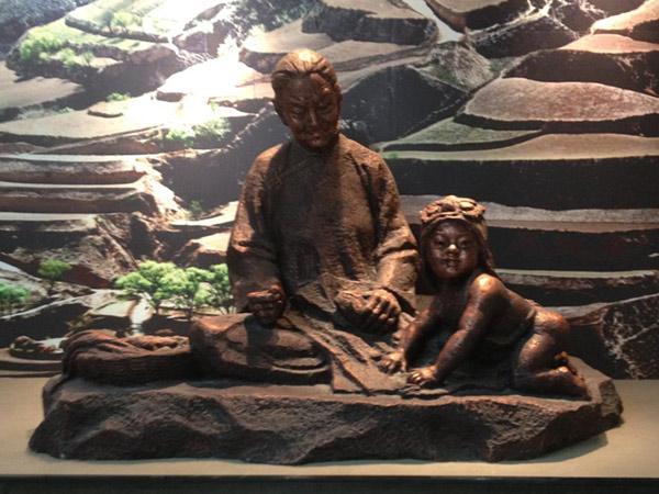 甘肃博物馆雕塑设计