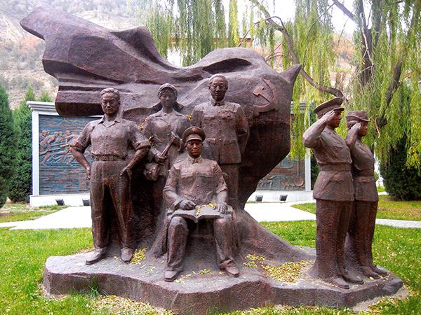 兰州部队雕塑