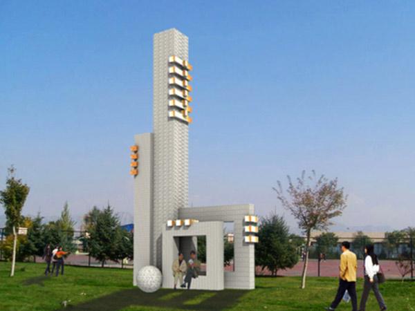 兰州现代城市雕塑