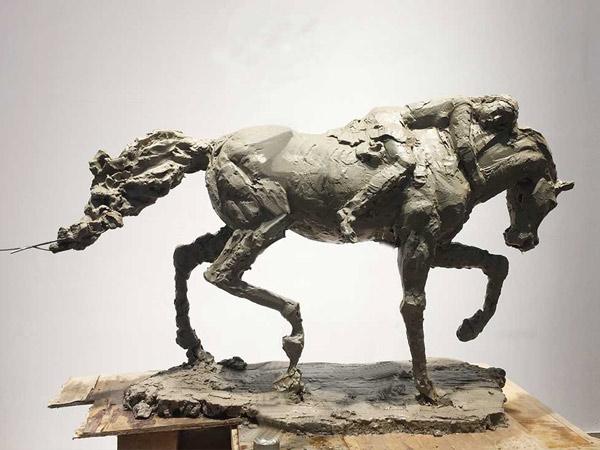 兰州展览馆雕塑设计
