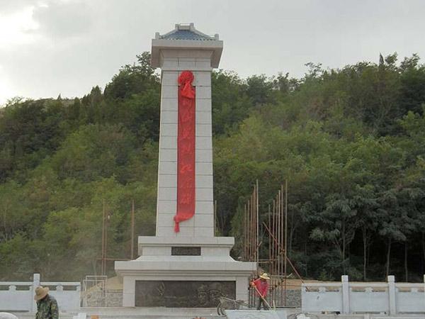 2015年白银铜城英烈纪念碑