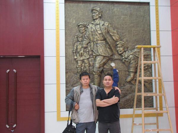 2011年白银平川红色革命教育基地浮雕