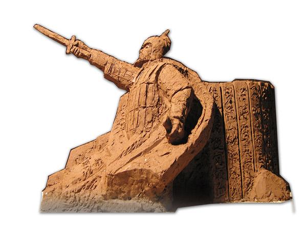 2012年武威某部队浮雕及雕塑