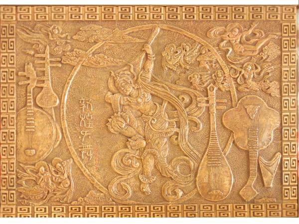 兰州铸铜浮雕