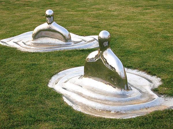 兰州不锈钢景观雕塑