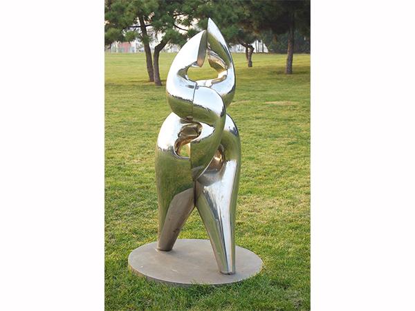 兰州不锈钢公园雕塑