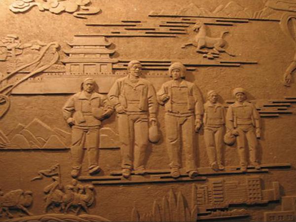 兰州文化雕塑