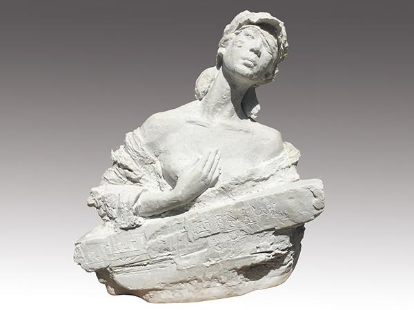兰州城市水泥雕塑