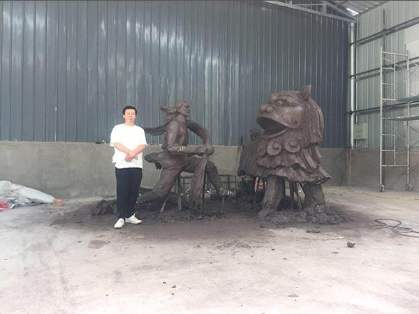 兰州大型水泥雕塑